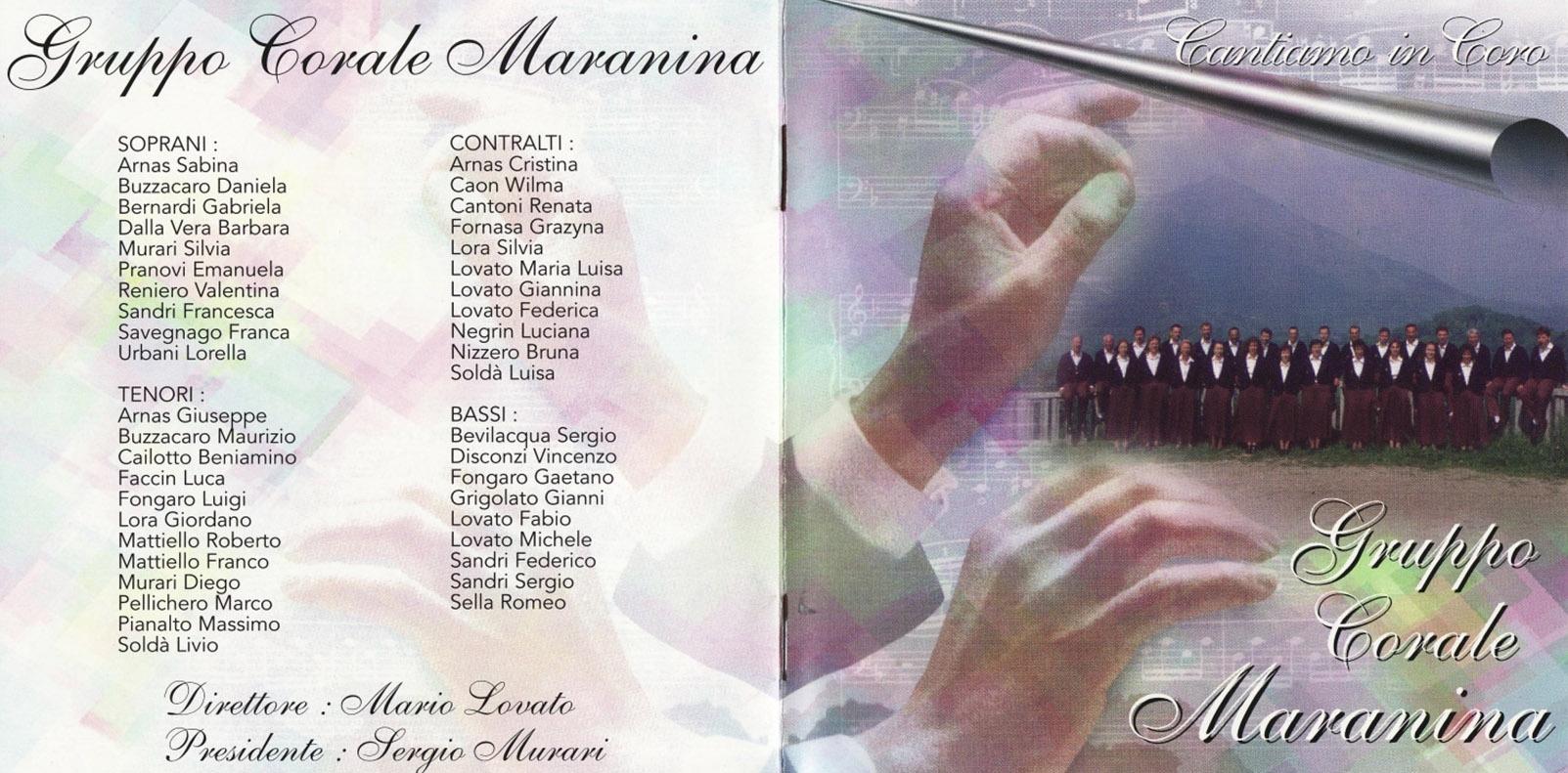 cantiamo in coro gruppo corale maranina